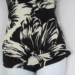 Sea Fashions Swim - Sea Fashions Swimsuit Small Medium Black White